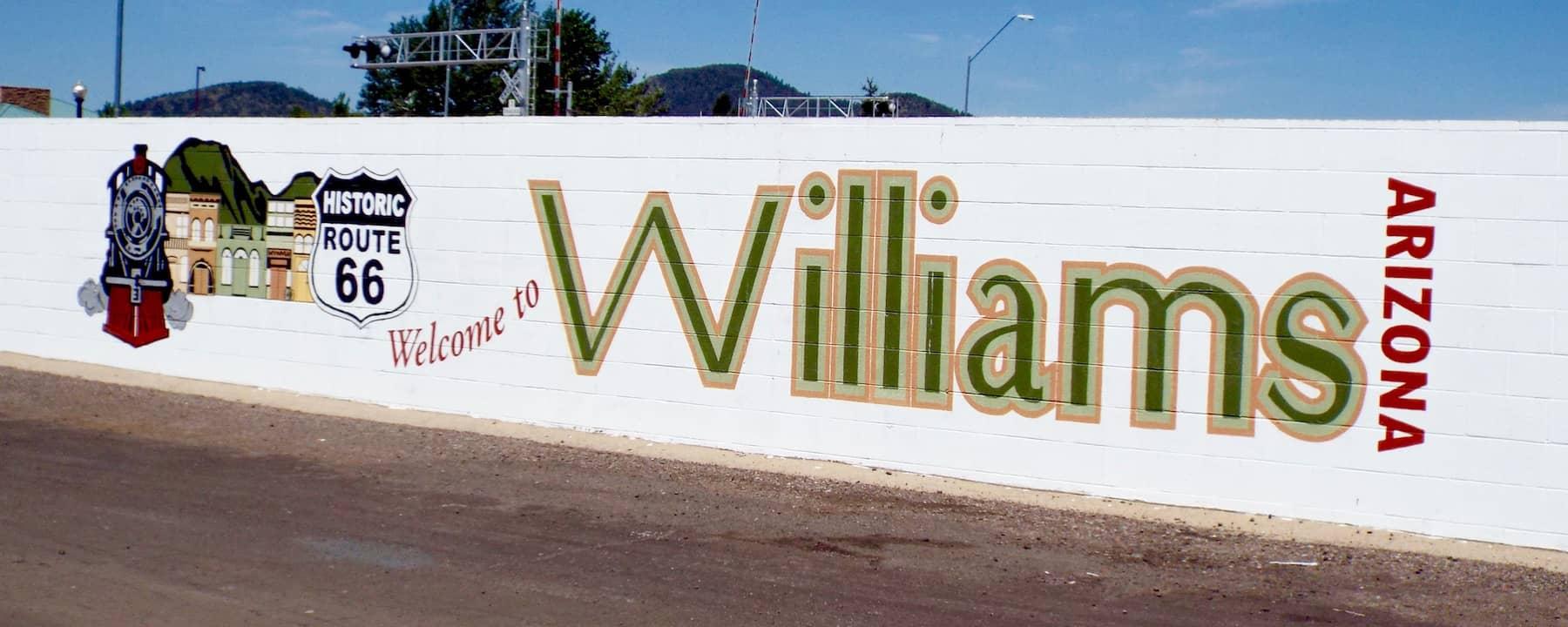 Grand Canyon to Winslow AZ