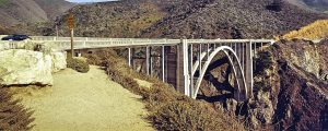 Bixby Bridge on Highway one California